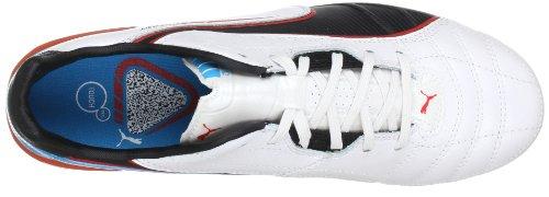 Puma Spirit FG Herren Fußballschuhe Weiß (metallic white-black-hawa 03)