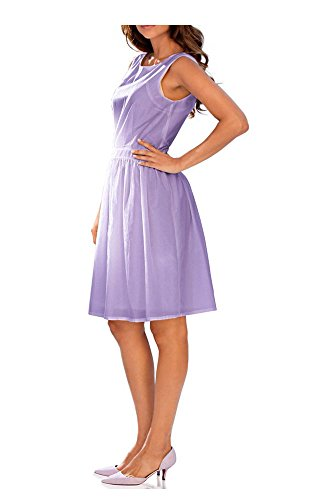 Ashley Brooke - Robe - Opaque - Femme Multicolore Lilas Violet - Lilas