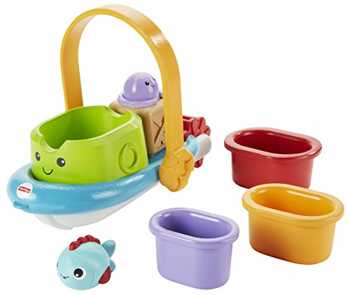Fisher-Price BFH59 Stacking Tubtime Boat