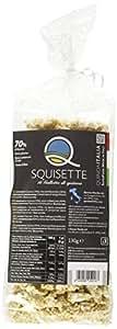 Quinoa Italia Squisette, Gallette di Quinoa 70% e Riso 30% - Confezione da 8 Pezzi