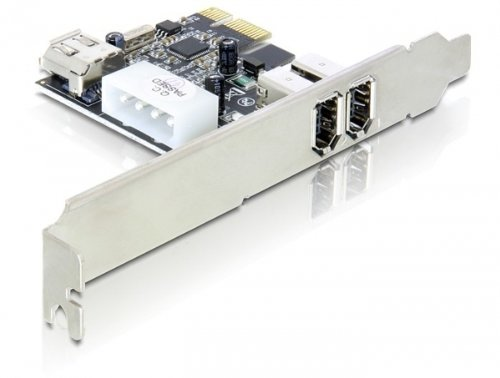 DeLock FireWire A 2 Plus 1 Port PCI Express Karte