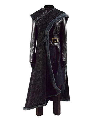 Zhangjianwangluokeji Arya Kostüm Halloween Cosplay Kleid Schwarzweiss-Akademie-Trainingskleidung (X-Small, Style 1)