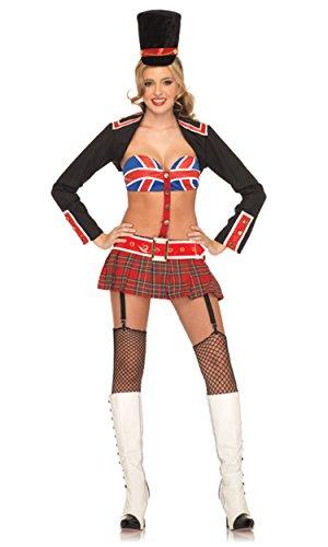 Königin Des Kostüm Clubs Adult - Leg Avenue Kostüm Garde der Königin von England, M/L