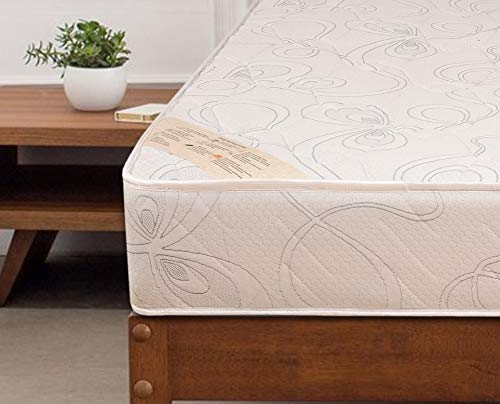 Springtek Ortho Pocket Spring 6-inch Queen Size Mattress (White, 78x60x6) Image 4