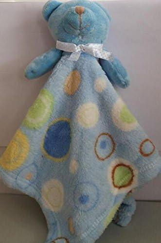 Sun Glower Doux Doux Doux Main Serviette Bébé Douillette Jouets Coton Serviette en Peluche Ours et Colorful Bubble Pattern Toy_Light Blue | Brillance De Couleur  b0ee16