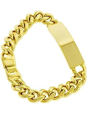 Namensarmband - 24 Karat vergoldet - Armband - Herren - Hip Hop Bling - 13mm