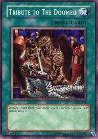 Yu-Gi-Oh! - Tribute to The Doomed (SKE-035) - Starter Deck Kaiba Evolution - Unlimited Edition - Common by Yu-Gi-Oh!