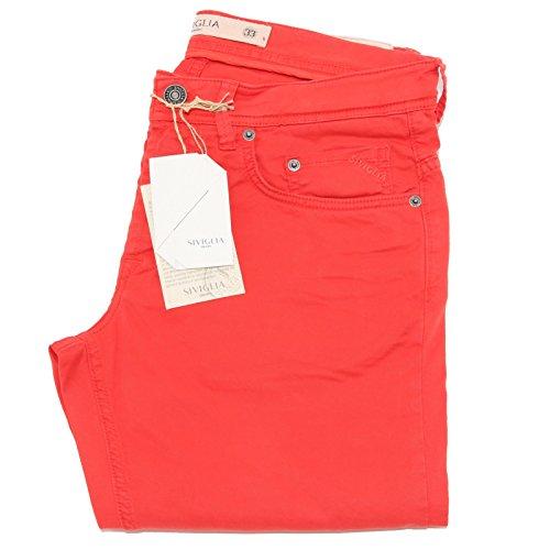 81580 pantaloni lunghi SIVIGLIA DENIM jeans uomo trousers men [36]