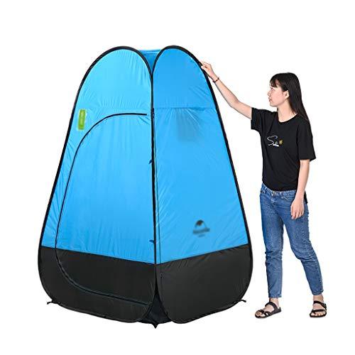 Kuppelzelte Falten Sie Sich ändernde Zelt Dusche/Bad/Dressing tragbare Haus Mobile Outdoor-WC-Feld Anti-Licht 115 * 115 * 190cm (Farbe : B) -