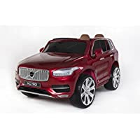 Volvo XC90 Licensed 12v Electric Jeep 2018 Model with Upgraded Rubber Tyres and Leather Seats - (3 Colours)