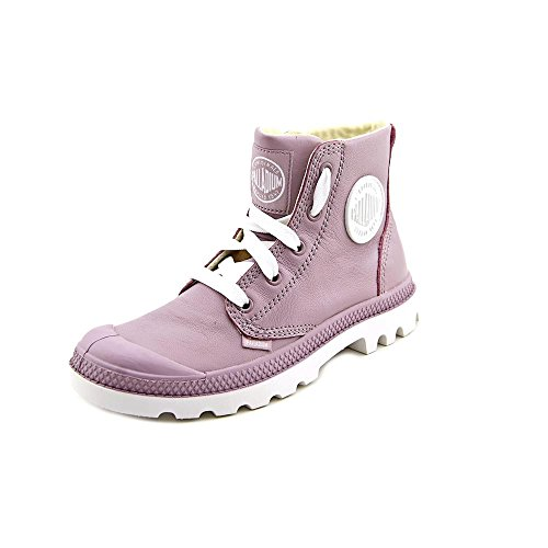 Palladium Blanc Hi Leather Chaussures d'hiver Edel Rose