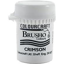 brusho Kristall Farbe 15g Crimson