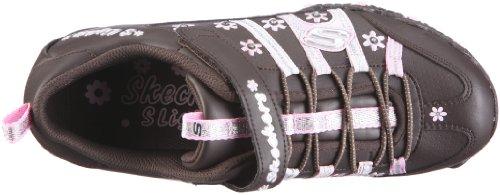 Skechers Lighted Flower Bungee Sneaker 996105L, Sneaker ragazza Marrone (Braun/CHLP)