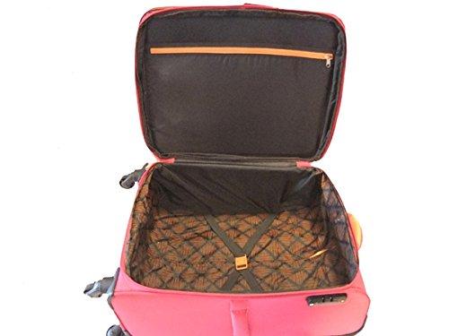 Travelite Kite 4w Trolley M, Erweiterbar, 87148-17, Koffer, 64 cm, 77 L, Pink - 2