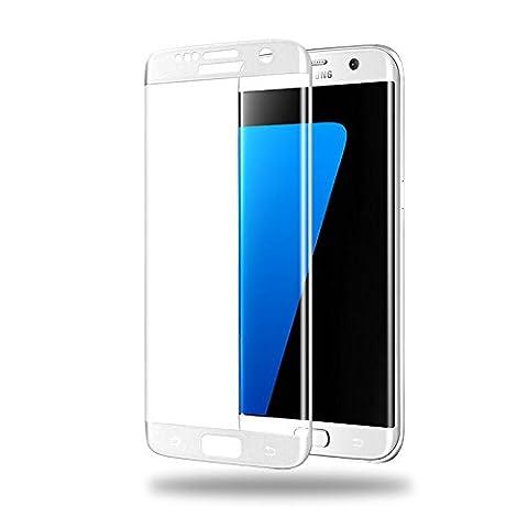 Samsung Galaxy S6 Edge Panzerglas (1x Panzerfolie) Full-Cover HD Displayschutzfolie