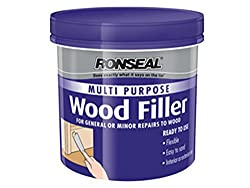 Ronseal RSLMPWFW250G 250g Multi-Purpose Wood Filler Tube - White