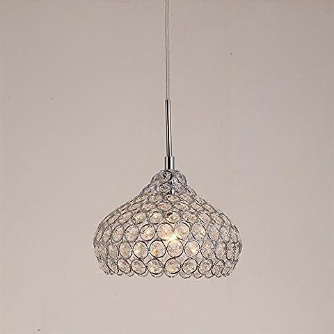 YanCui@ Soggiorno e sala/bar/sala da pranzo/camera da letto Lampadari Lampadari di cristallo minimalista MAX40W mini creativi K9