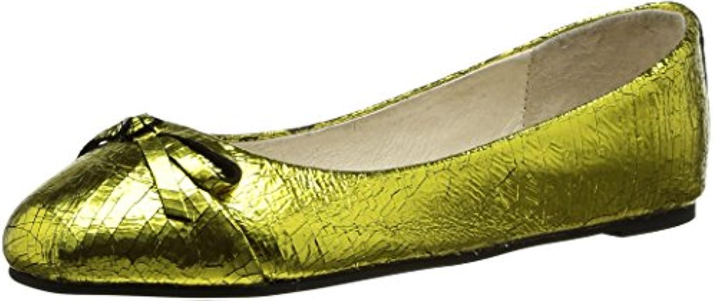 Buffalo London Damen Ballerinas 2018 Letztes Modell  Mode Schuhe Billig Online-Verkauf