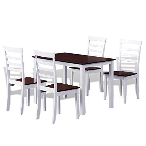 essgruppe esstisch tisch 4 st hle stuhl massiv. Black Bedroom Furniture Sets. Home Design Ideas