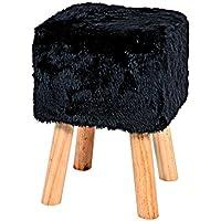 Preisvergleich für Haku-Möbel Hocker, 30 x 30 x H: 45 cm, schwarz