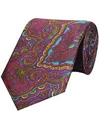Tiekart Purple Formal Cotton Tie for Men