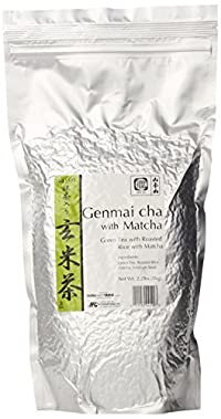 Yamamotoyama Matcha Genmai Cha, 2.20 Pound