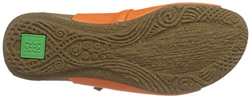 El Naturalista Wakataua Nd79, Sandales Plateforme femme Orange - Orange