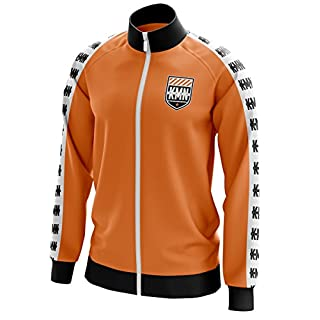 KMN Gang Trainingsjacke orange, Größe:L, Farbe:orange