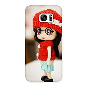 Gorgeous Cute Little Angel Multicolor Back Case Cover for Galaxy S7 Edge