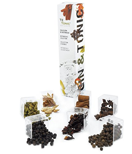 7 Botanicals Gin Tonic cocktails - for flavoring your Gin & Tonic, 82 grams in total. Ideal as a Gin gift set for any occasion, By Té Tonic