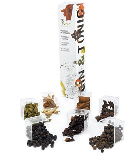 Estuche de 7 Botanicos y Aromas para Gin & Tonic - regalo Gin gift box