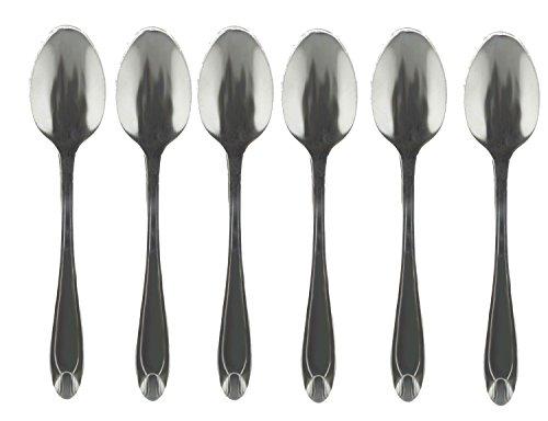 Cucharillas de café de 12cucharillas de café (cuchara de té cucharas de acero inoxidable