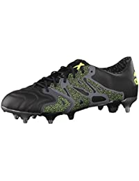buy popular f055d f4112 adidas - Chaussures de Football - Chaussure X15.1 Terrain Gras - Core Black  -