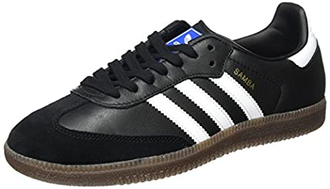 adidas Unisex-Erwachsene Samba Sneaker, Schwarz (Core Black/Footwear White/Gum), 38 2/3 EU