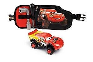 Smoby CINTURÓN DE Herramientas con Coche Cars, Color Rojo (360179)
