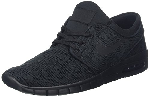 huge selection of 4f352 f1b18 Nike SB Stefan Janoski Max Men s Shoes - Black Black-Anthracite, 10.5 D