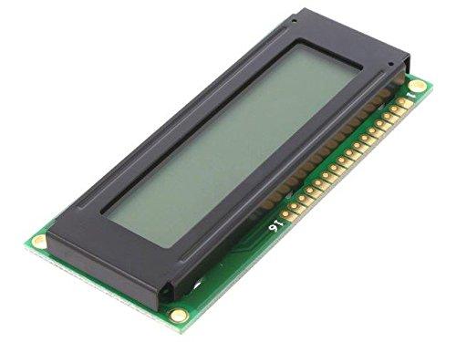 DEM16102FGH-PW Display LCD alphanumeric FSTN Positive 16x1 LED Fstn-display