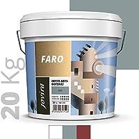 ANTIGOTERAS ELASTICA, pintura de terrazas evita filtraciones en todo tipo de cubiertas y terrazas.(20 KG, GRIS)