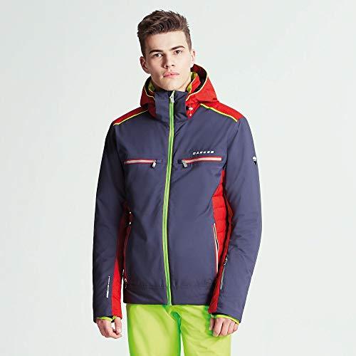Dare 2b Herren Regression und atmungsaktiv insualted Ski Wasserdicht Isolierte Jacke M Ebony Grey/Code Red