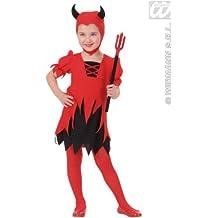 Widman - Disfraz de Halloween Lucifer para niña, talla 2 - 3 años (2010D)