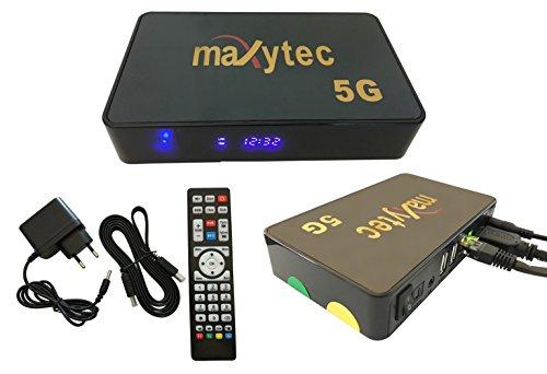 maxytec 5 G IPTV Receptor 3d Android Stream XTREAM Stalker Linux Kodi WiFi  Incluye cable HDMI M @ tec Digital
