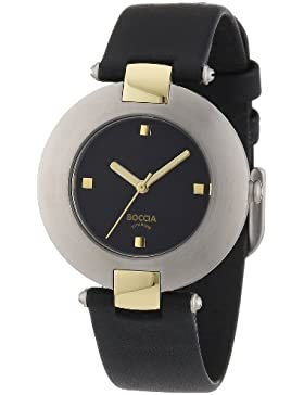 Boccia Damen-Armbanduhr Leder 364-14