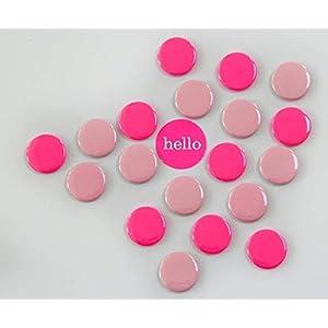 Magneten Set rosa neonpink Herr Fuchs 8 Stück