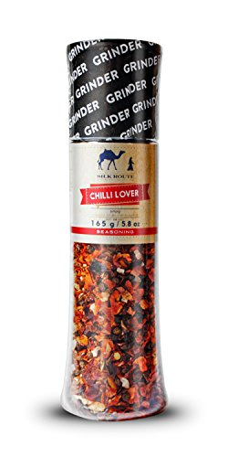 Silk Route Spice Company Chili Mühle Groß 165 g Red Pepper Grinder