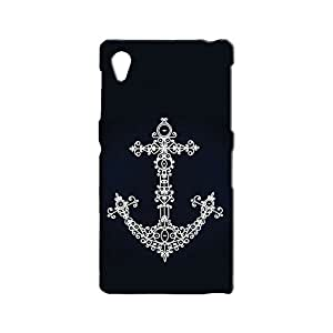 BLUEDIO Designer 3D Printed Back case cover for Sony Xperia Z1 - G5546