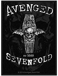 Avenged Sevenfold parche–oversha dowed–Avenged Sevenfold Patch–tejida & licencia oficial..