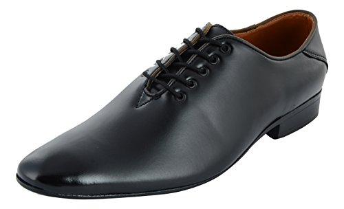 Auserio Men's Black Formal Shoes - 8 UK/India (42 EU)(SS 907)