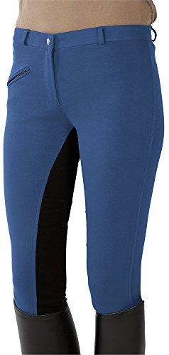 pfiff-pantaloni-da-equitazione-con-rinforzo-medio-colore-blu-nero-mid-vernice-blueberry-46