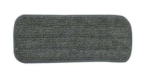 Bloom modulaire Balai Plat Recharge de Tissu, Gris
