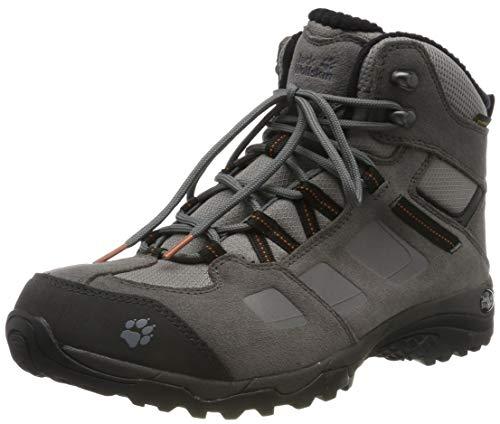 Jack Wolfskin Herren Vojo Hike 2 WT Texapore MID M Trekking- & Wanderstiefel, Grau (Tarmac Grey/Dark Steel 6122), 43 EU